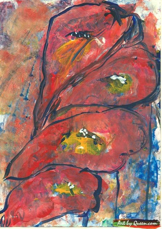 Fyra rosenkalla