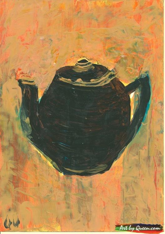 Bjudna på te