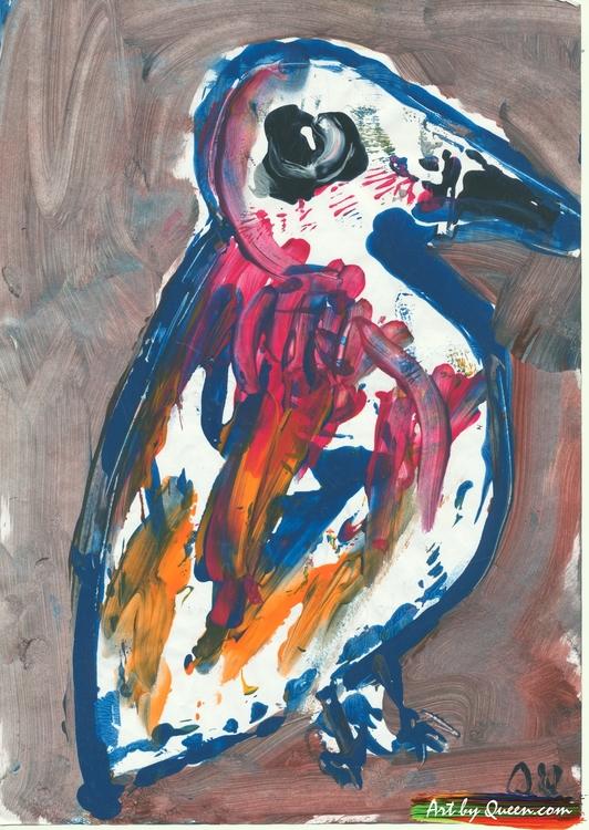 Pingvin på vandring