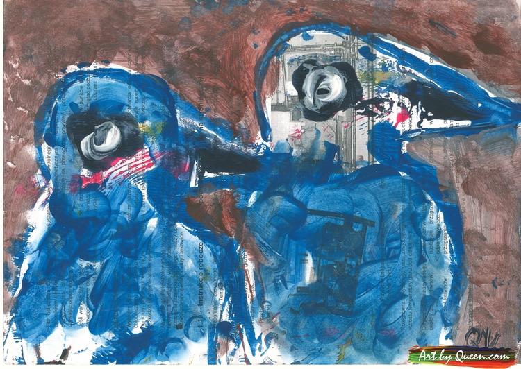 Två goa pingviner