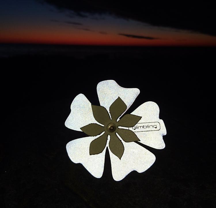 Poppy blomreflex, cremevit
