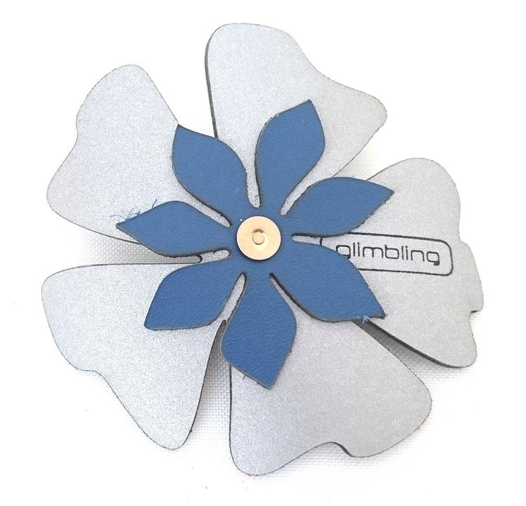 Poppy blomreflex,blå