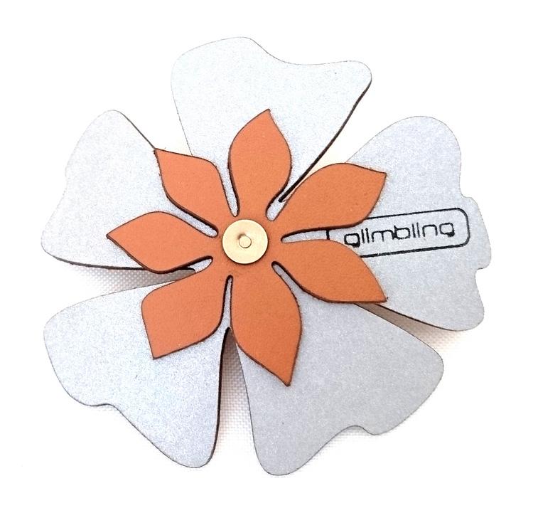 Poppy blomreflex, ljusbrun