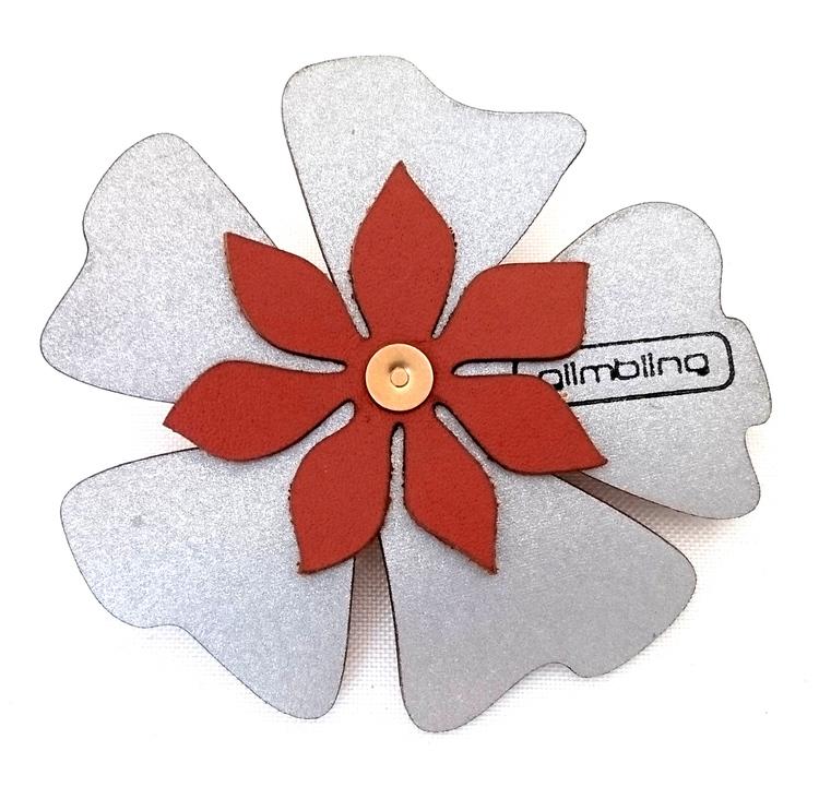 Poppy blomreflex, brun