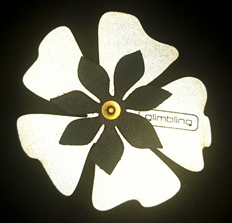 Poppy blomreflex, svart