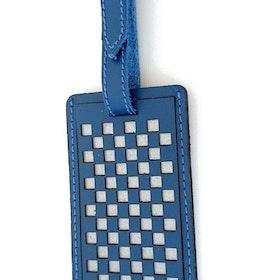 Bagageetikett Chess, blå