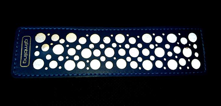 Reflexbrosch Milky Way, blå