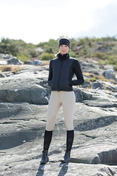 Stierna Nova Hybrid Jacket Svart