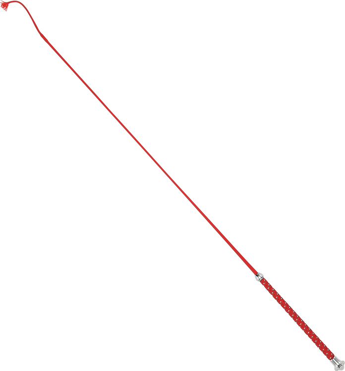 Spö med glitter 110cm Röd