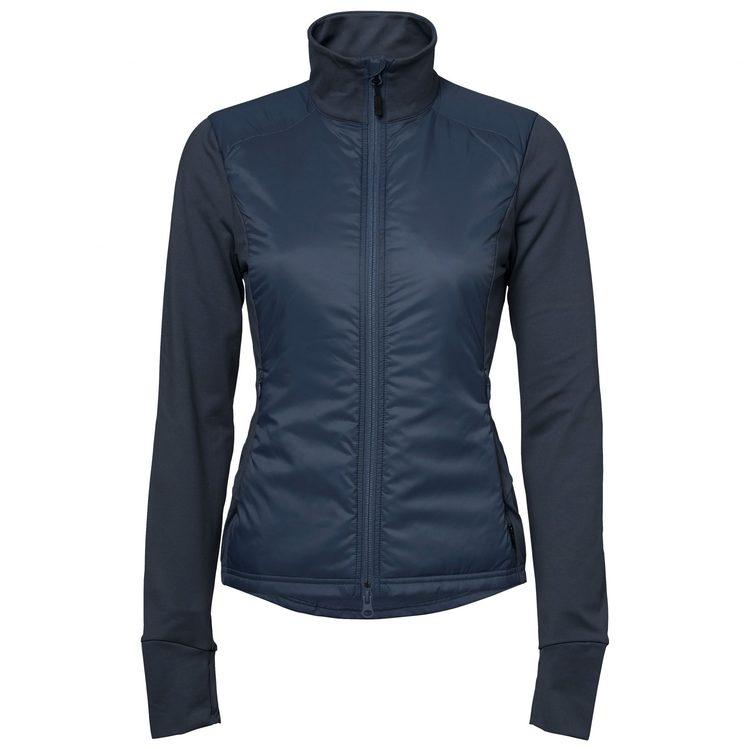 Stierna Nova Hybrid Jacket Marinblå