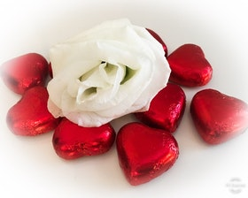 Chokladhjärtan