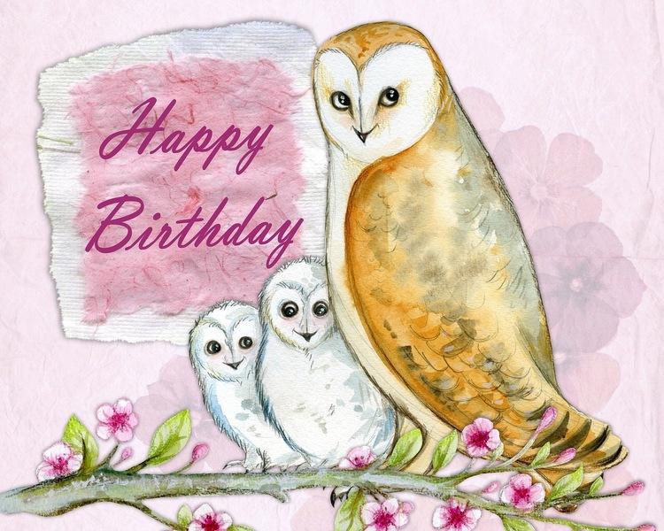 Happy owls