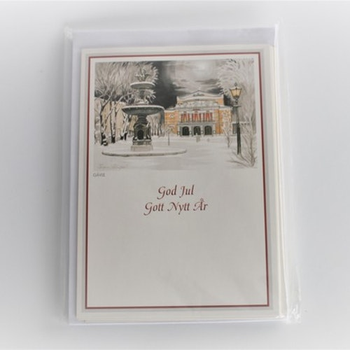 Christmas card 10-pack
