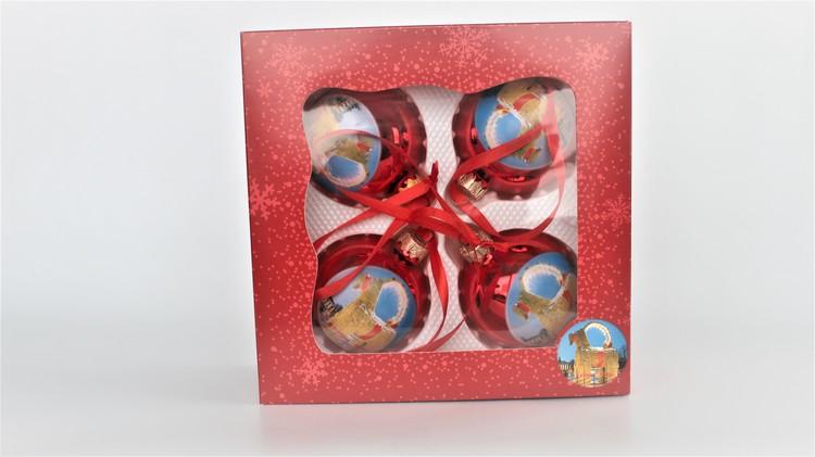 Christmas ball, 1-pack, 4-pack
