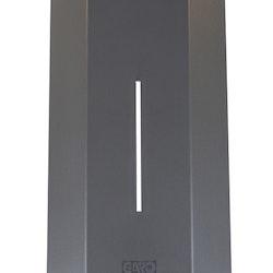Färgad front grå