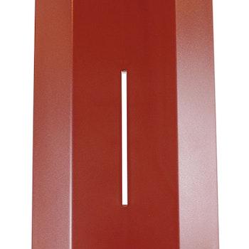 Färgad front röd