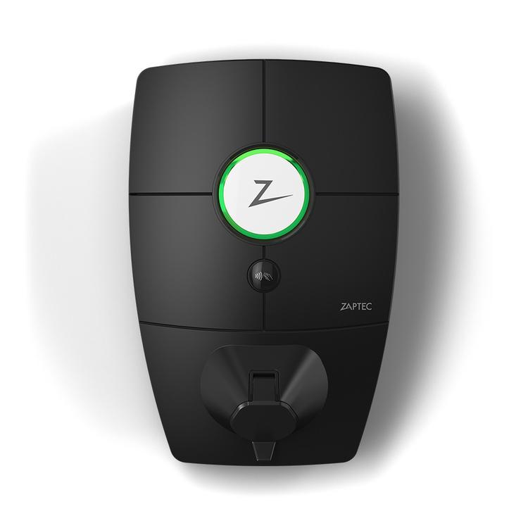 Zaptec Pro Laddbox, 3-fas, 32A, 22kW med 4G och Typ 2-kontakt