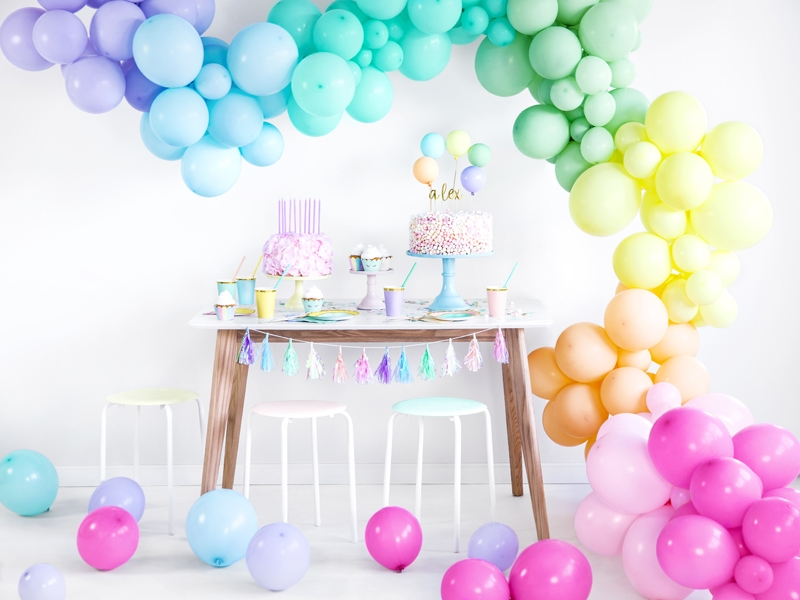 🎈 Enfärgade ballonger - Tingeltangel.se
