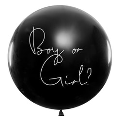 Gender Reveal ballong, stor, pojke