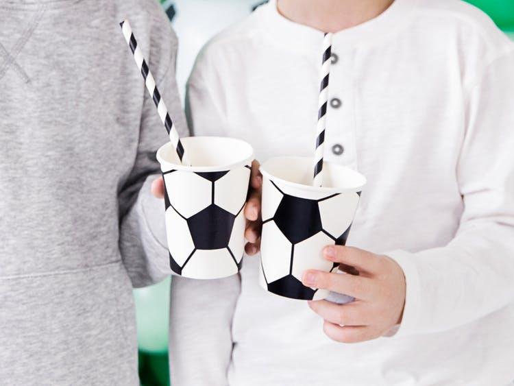 Pappmugg Fotboll, 6-pack