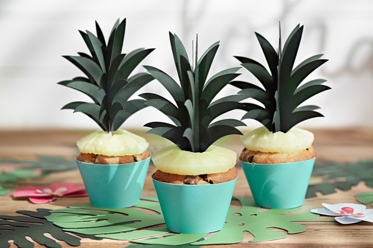 Cupcake wrappers turkos, 6-pack