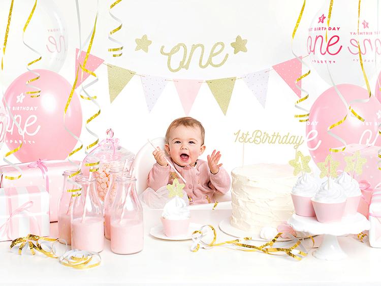 """Girlang 1-år """"One"""", Guld"""