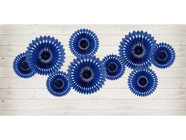 Pin Wheels mörkblå, 3-pack
