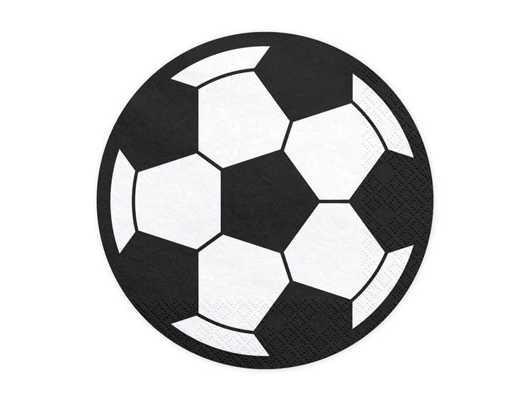 Servetter fotbollskalas