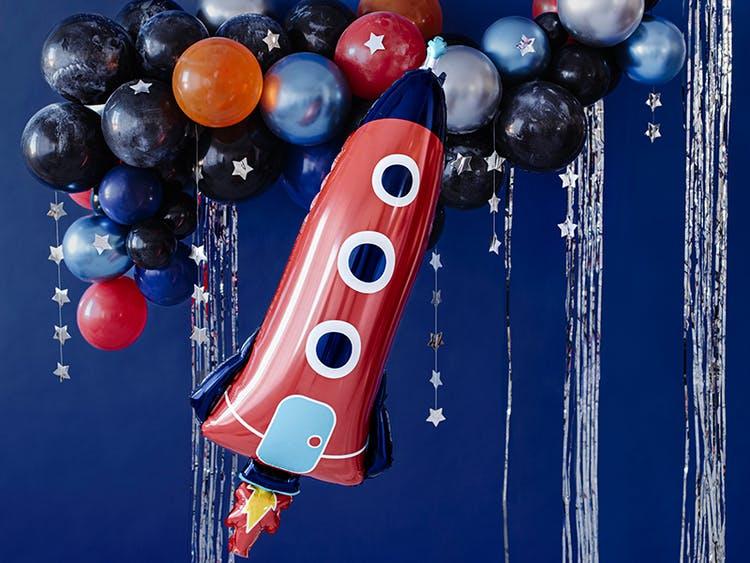Rymdballong, raket