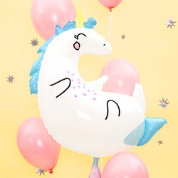 Folieballong, enhörning