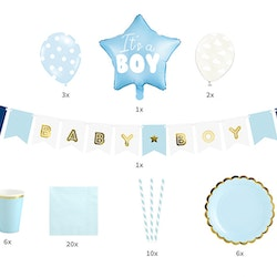 Baby Shower, paket pojke