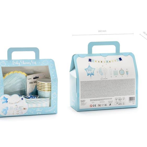 Baby Shower, paket pojke