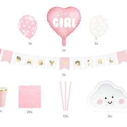 Baby Shower, paket flicka