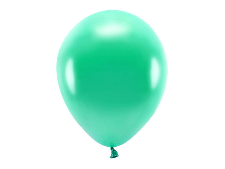 Blågrön ekologisk ballong