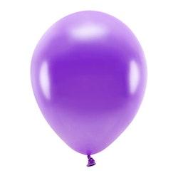 Ballong EKO, metallic violett, 10-pack