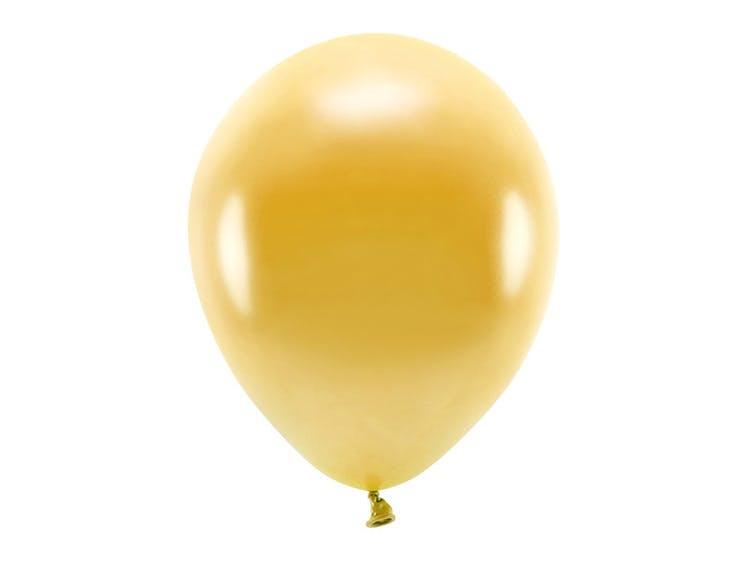 Ekologisk ballong i guld