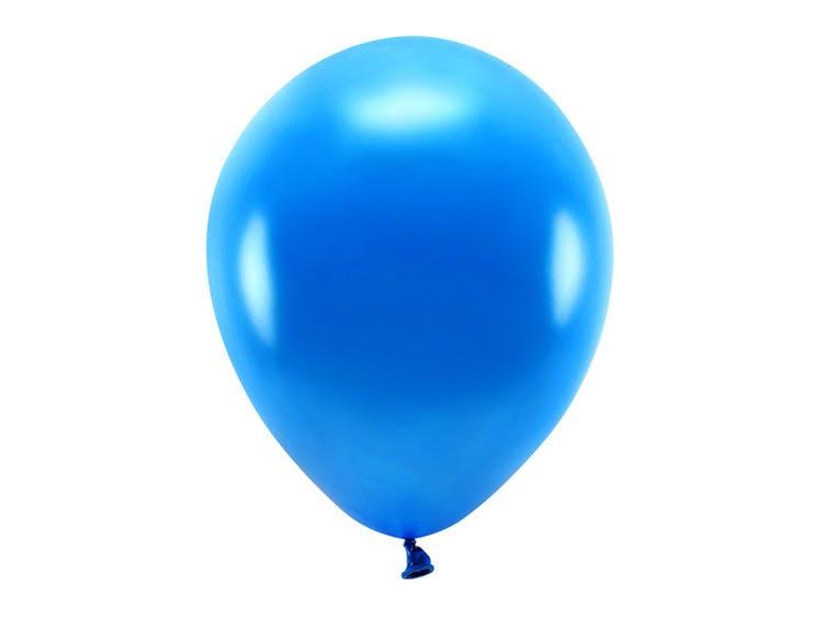 marinblå ballong i ekologisk gummi