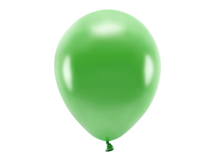 gröna ballonger i ekologiskt gummi