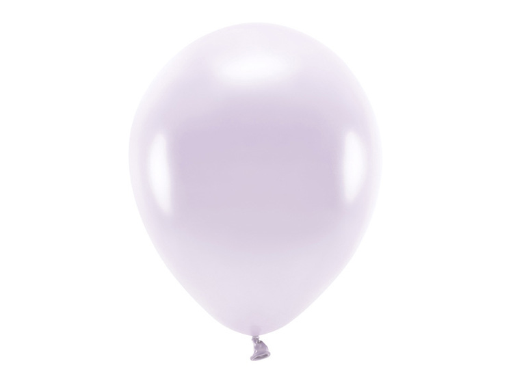 Ballong EKO, metallic ljuslila, 10-pack