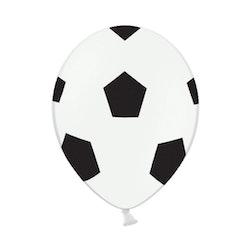 Ballong, fotboll, 6-pack