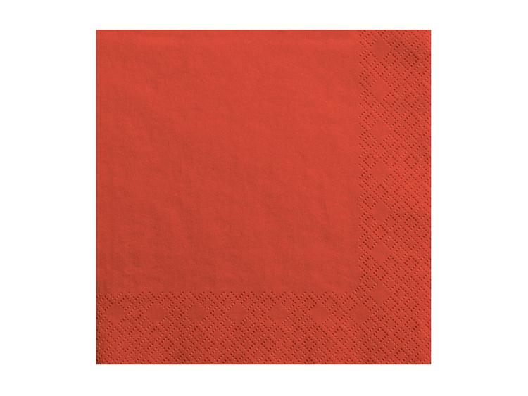 röda servetter
