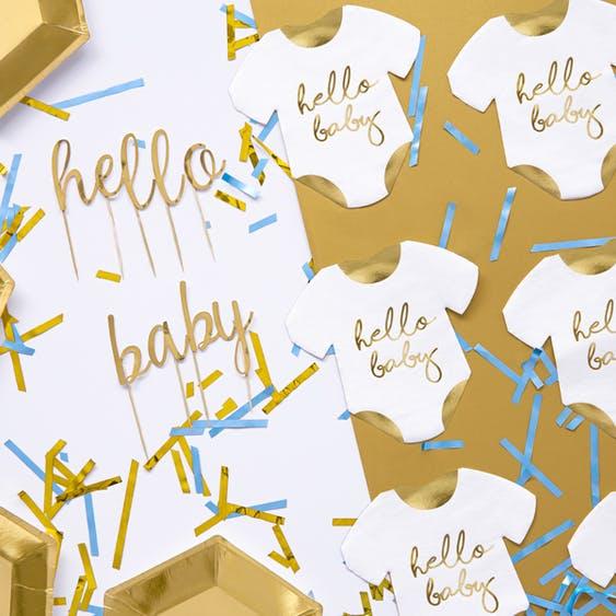 Servetter, bebis, 20-pack