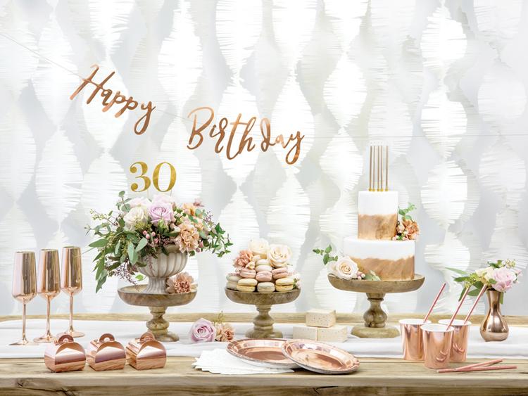Tårtljus, guld, 12-pack