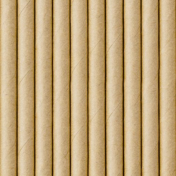 Naturliga pappsugrör
