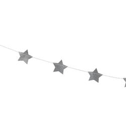 Girlang, stjärnor, silver
