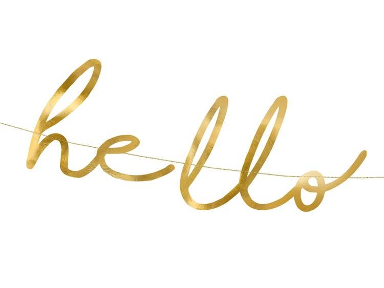 Girlang, Hello Baby, guld