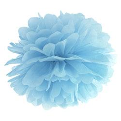 Pom Poms, ljusblå