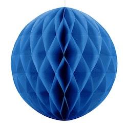 Honeycomb boll, blå