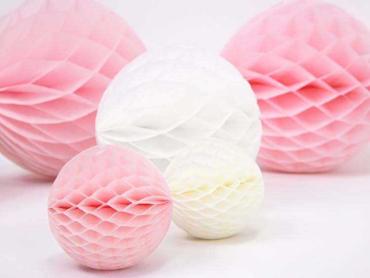 Honeycomb boll, rosa
