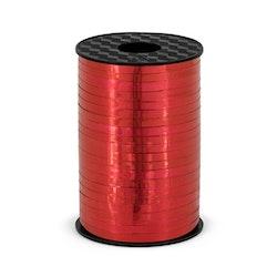 Ballongsnöre, metallic röd